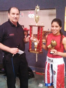 Most Outstanding Open Female Carmen Vargas from Marquez
