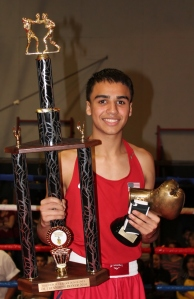 Most Outstanding Open Male Boxer - Gilbert Renteria from Fighter Nation