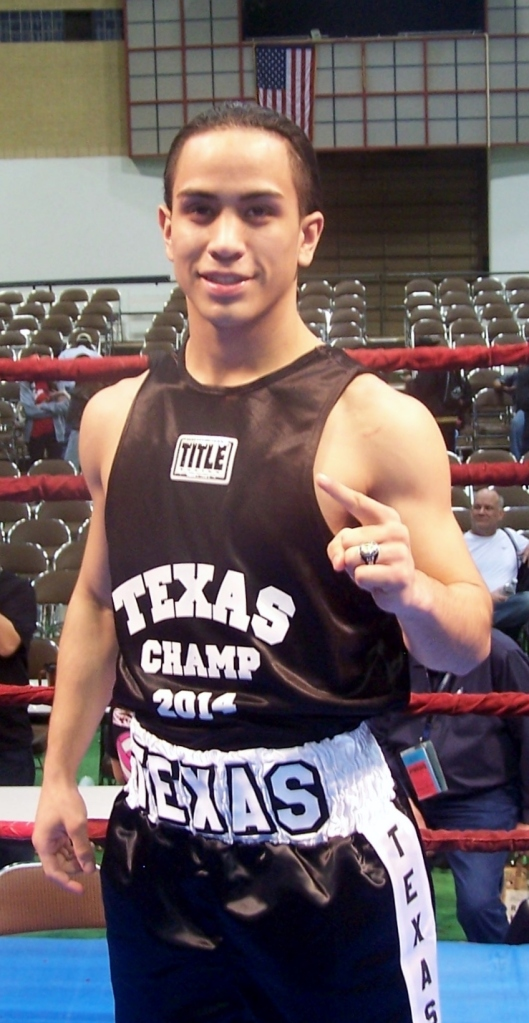 Marshall Sanchez - 2014 Texas Golden Gloves 114 lbs Champion