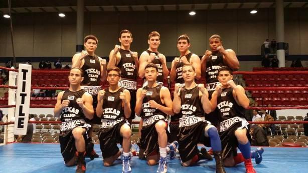 2014 Texas Golden Gloves Champions