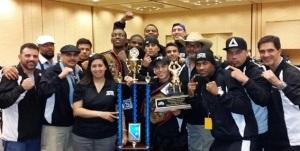 Texas win's Team Trophy!