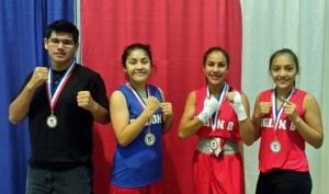 Cristian Robles (b), Jasmin Fernandez (g), Romalin Martinez (g) & Alexandra Fernandez (s)