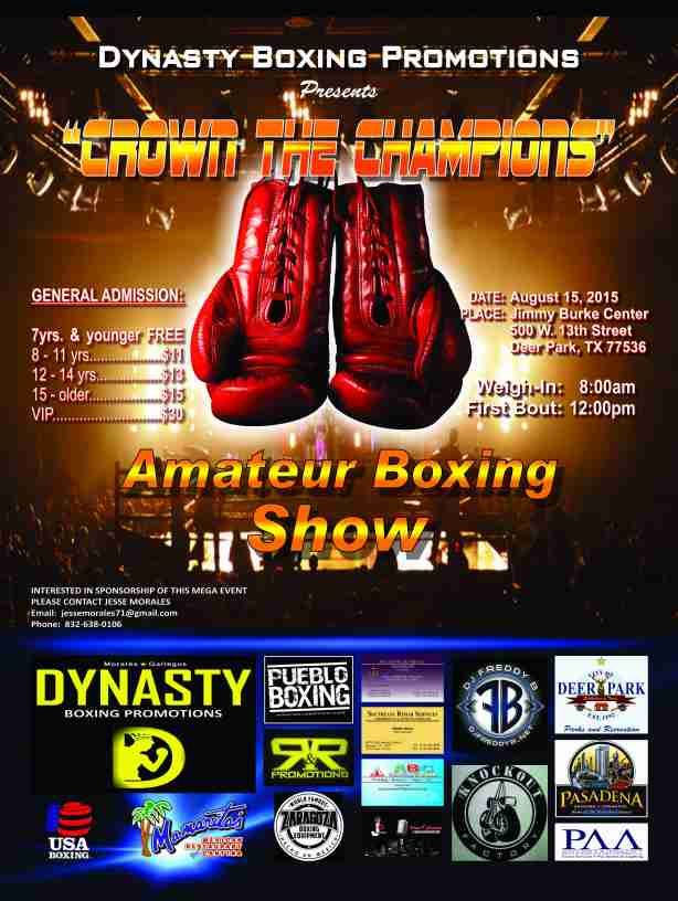 Dynasty Boxing Promotions - 18 x 24 fc posters(1)