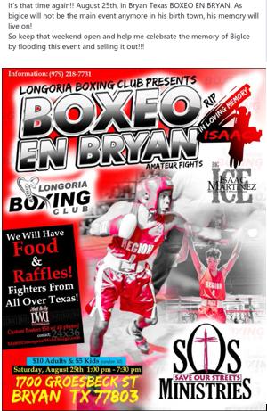 Boxeo en Bryan 4