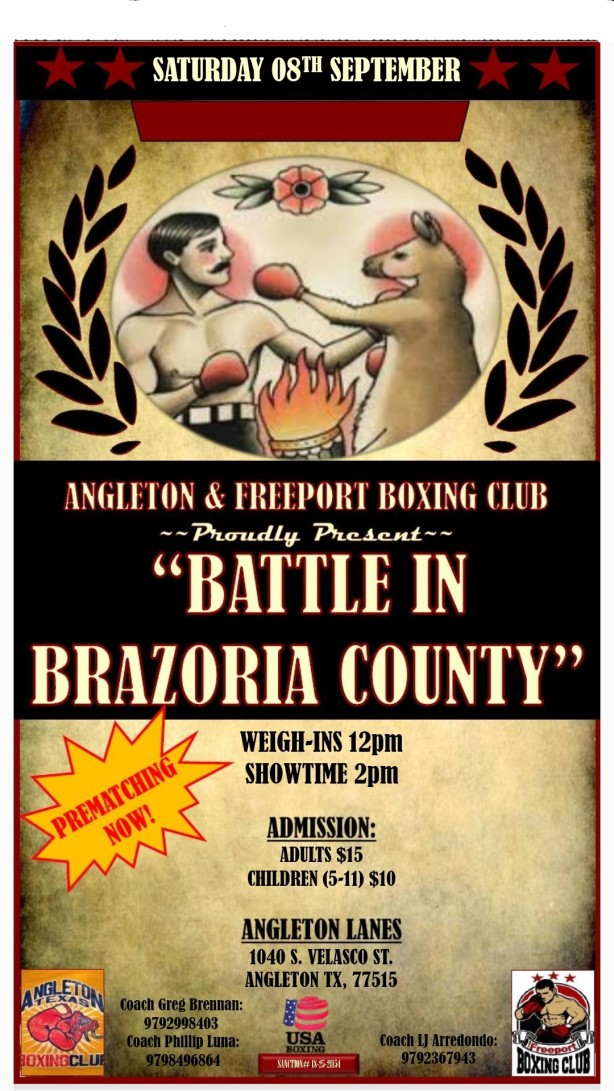 Battle In Brazoia County September 8 2018