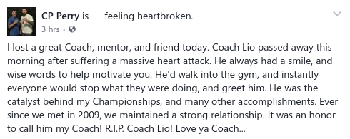 Chad Perry Loss Coach Leo1