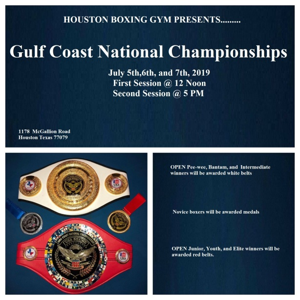 Gulf National Championship July 52019 belts 3