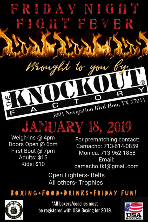 2019 Knockout Factory Jan 18